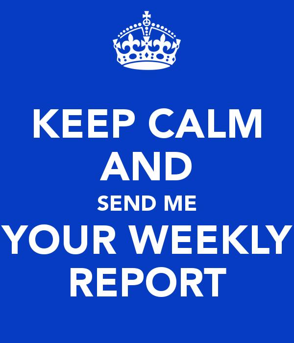 Sunday Report #1